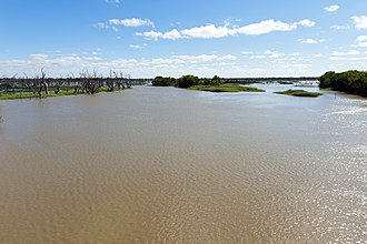 Menindee Lakes - Image: Menindee Lakes viewed from the Main Weir