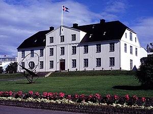 Education in Iceland - The main building of Menntaskólinn í Reykjavík.