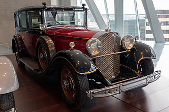 Mercedes-Benz 770 - 1935 Mercedes-Benz 770 (W07) limousine used by Emperor Hirohito