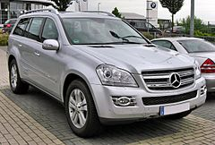 Mercedes-Benz GL I (X164) przed liftingiem
