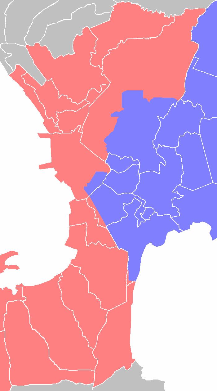 Metro Manila water zones