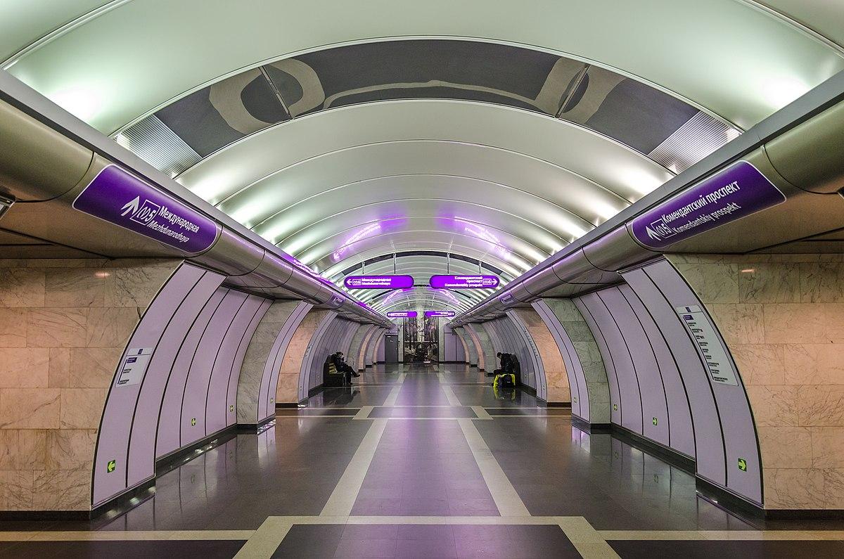 Volkovskaya Saint Petersburg Metro Wikipedia