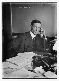 Meyer London American politician