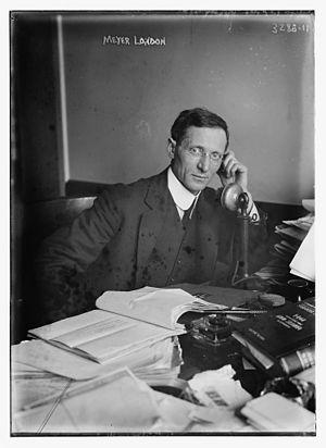 Meyer London - London in 1914