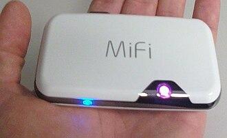 "MiFi - A Novatel MiFi 2372 ""Intelligent Mobile Wi-Fi Hotspot"""