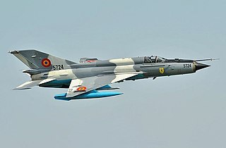Mikoyan-Gurevich MiG-21 interceptor and air superiority fighter family