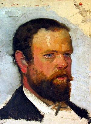 Adrian Scott Stokes - Adrian Stokes; portrait by Michael Ancher