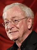 Photo of Michael Caine at the Vienna International Film Festival in 2012.