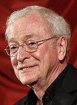 Photo of Michael Caine attending the Nobel Peace Prize Concert in 2008.