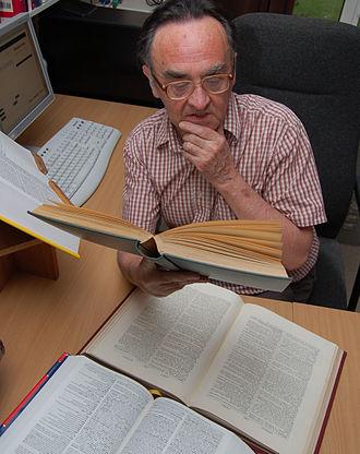 Michael Quinion - Michael Quinion in his office