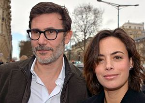 Michel Hazanavicius - Hazanavicius with his wife Bérénice Bejo.
