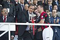 Michel Platini with Lincoln Red Imps, 2014.jpg