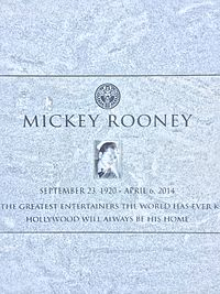 Mickey Rooney Grave.JPG