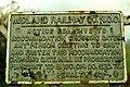 Midland Railway sign near Glarryford - geograph.org.uk - 1085633.jpg
