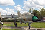 Mikoyan-Gurevich MiG-21SMT in Museum of technique 2016-08-16.JPG