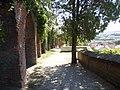 Mikulovský zámek, klenby u zahrady 1.JPG
