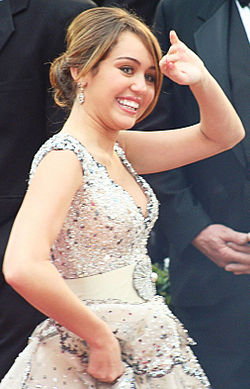 Miley Cyrus Oscar-gaalassa 2009.