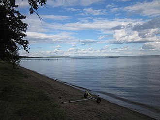 Mille Lacs Lake - Lake in September 2011