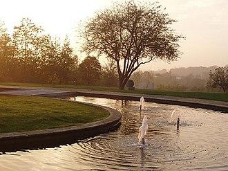 Campuses of the University of Nottingham - Millennium Garden
