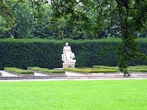 Ryvangen Memorial Park - Burial site