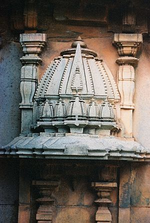 Haveri -  nagara style tower