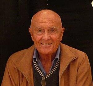 Italiano: Lo scrittore Mino Milani