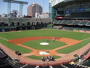 Houston Astros - The Astros moved into Minute Maid Park in 2000