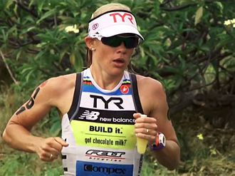Mirinda Carfrae - Image: Mirinda Carfrae at 2014 Ironman Hawaii