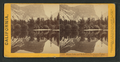 Mirror Lake and reflections, Yo-Semite Valley, Mariposa County, by Lawrence & Houseworth 4.png