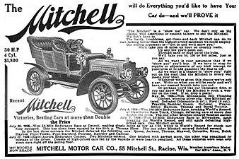 The Car Company >> Mitchell Automobile Wikipedia
