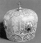 Mitre of Bishop Sztojkovics, Hungary, c. 1860