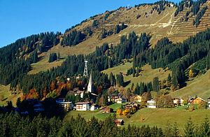Mittelberg (Kleinwalsertal) – Reiseführer auf Wikivoyage