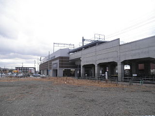Miyamaki Station Railway station in Kyōtanabe, Kyoto Prefecture, Japan