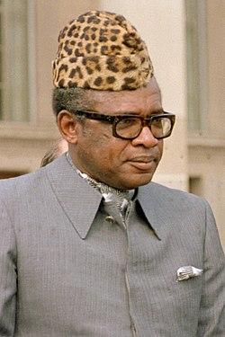 Мобуту Сесе Секо в 1983 году