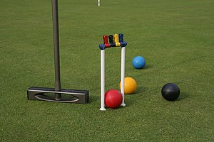 Croquet - Modern croquet equipment