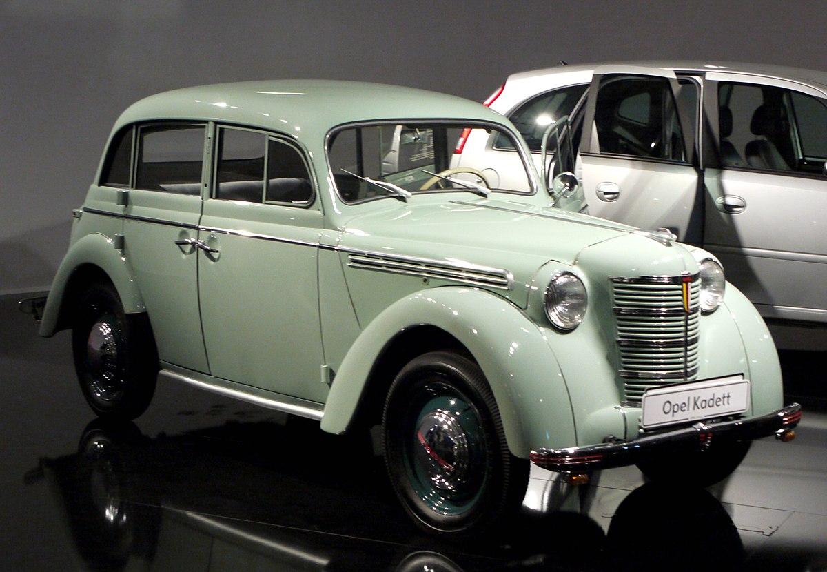 Opel Kadett - Βικιπαίδεια