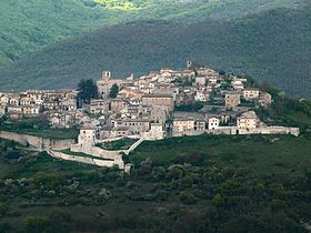 View of Monteleone di Spoleto