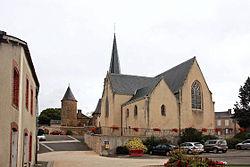 Montigné-le-Brillant - Eglise St Georges.JPG
