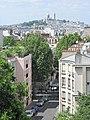 Montmartre and rue des Chaufourniers.jpg