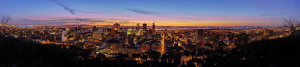 Montreal panorama