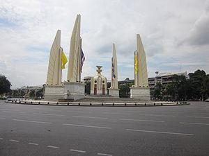 Democracy Monument - The Monument of Democracy, Bangkok