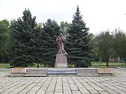Monument to the soldiers of the Southern Front, Yasynuvata, Ukraine 3.jpg