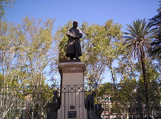 San Juan, Argentina - Monument to Governor Antonino Aberastain