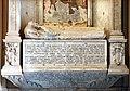Monumento del cardinale paolo mellini, 1527, con madonna frammentaria dell'ambito di melozzo, 03.jpg