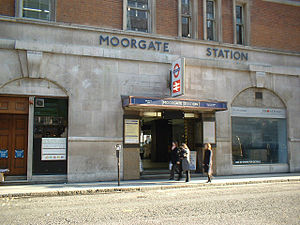 Moorgate station