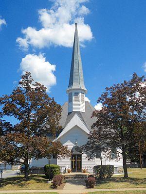 Moosic, Pennsylvania - Image: Moosic PA Presby