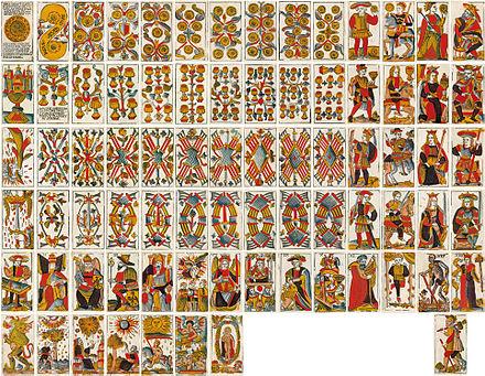 carte tarot de marseille Tarot de Viéville — Wikipédia