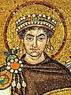 Mosaic of Justinianus I - Basilica San Vitale (Ravenna)