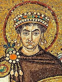 Mosaic of Justinianus I - Basilica San Vitale (Ravenna).jpg
