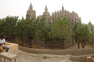 2002 African Cup of Nations - Image: Mosque Mopti
